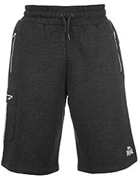 Lonsdale Herren Shorts Kurze Jogginghose Hose Trainingsshorts 2 Streifen Detail