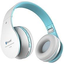Cuffie senza fili bluetooth Aita BT809 Thor pieghevole stereo auricolari Bluetooth 4.1 con Microfono per Iphone,Android e computer(Blu)