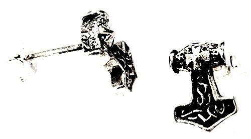 N. 29: martello di Thor orecchini in argento Sterling 925