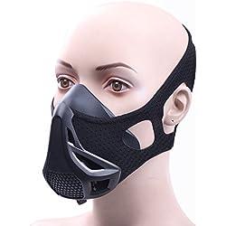 hemeraphit gimnasio Entrenamiento Deportivo máscara 4nivel regulador de flujo de aire alta altitud elevación ejercicio máscara de respiración para correr/ciclismo/gimnasio/Jogging