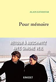 Book's Cover ofPour mémoire