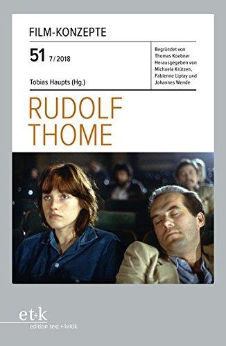 Rudolf Thome (Film-Konzepte, Band 51)