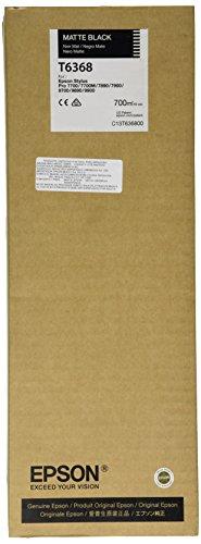 Epson T6368 C13T636800 - Cartouche d'encre d'origine - Noir Mat (Matte Black) pour Stylus Pro - 700ml