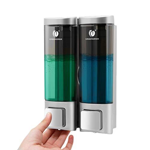 Morza Badezimmer-Dusche-Raum-Wandhalterung Pump-Schaum-Spray Lotion Tropfen Flüssigseife Container Spender Shampoo Box CHUANGDIAN -