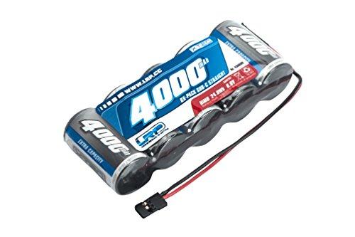LRP Electronic 430609 - XTEC 1/5 RX-Pack Straight SubC NiMH, JR, 6.0V, 4000 mah Rx Pack