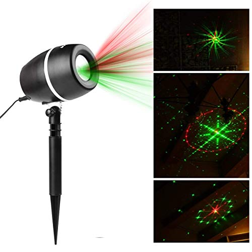 Salcar Galaxy LED Lichteffekt, innen/außen IP65, 3 Farben/Modi