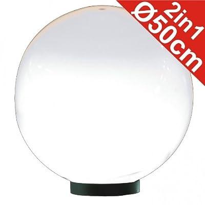 Leuchtkugel Ø50cm Kunststoff von Starke bei Lampenhans.de