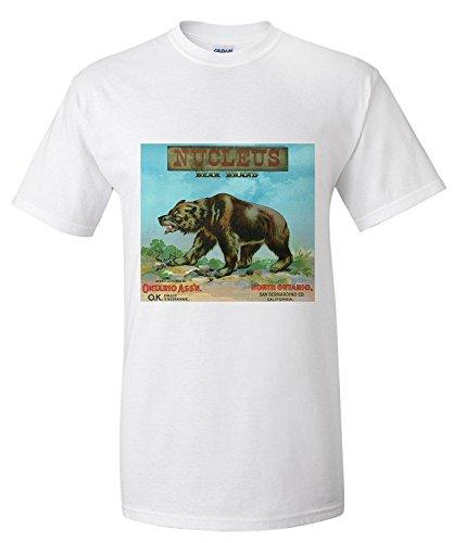 north-ontario-california-nucleus-bear-brand-citrus-label-premium-t-shirt