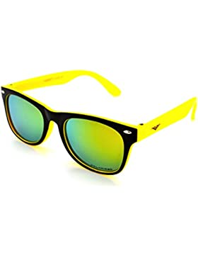 WODISON Kids Polarized Wayfarer Occhiali da sole UV400 Unisex per et/à da 3 a 12 con sacchetto