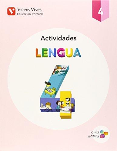 Lengua 4 Actividades (aula Activa) - 9788468229676 por Carles Fernandez Rivero