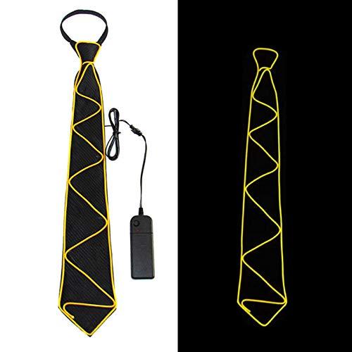 GLMXJJ Atmosphäre Requisiten Neue Led Licht Dekorative Krawatte Nachtclub Bar Ktv Atmosphäre, T22