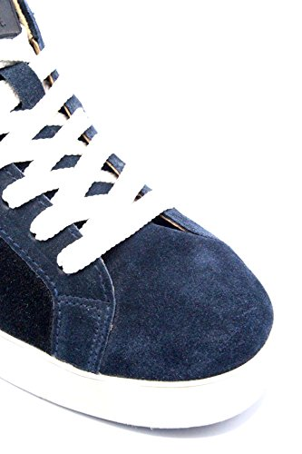 D.A.T.E. Date Uomo Sneakers Hill Low 40-45 Made in Italy Blu