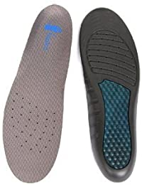 HealthPanion 1 Paire de Chaussures de sport avec Cadrage double Semelles de chaussures de densité pour soulager la douleur et orthèses (hommes)