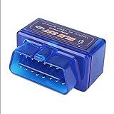 Audeltech Mini Bluetooth für ISO 15765-4 CAN BD 2 KFZ Diagnose Scanner/Diagnosescanner/DiagnoseTester für alle OBD II Fahrzeuge gängiger Hersteller Version 1.5