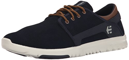 Etnies Scout, Chaussures de Skateboard Homme Navy / Brown