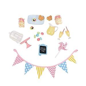 Our Generation BD37305Z - Accesorios cumpleaños para muñecas