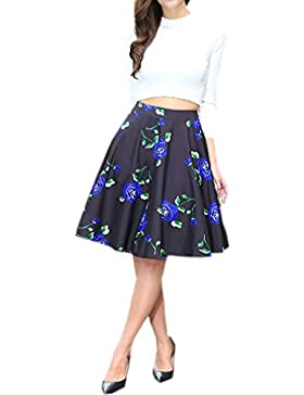 84478687e Honghu Elegante Vintage Faldas d | AlliKey Español Compras Moda