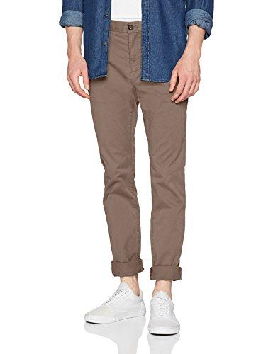 814590694e92 Tommy Hilfiger Men s Core Denton Straight Chino Trouser, Brown (Walnut  246), W34