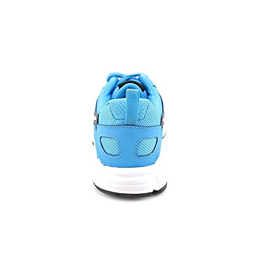 Nike  Running Dart 10 Lgb, Chaussures de course pour garçon blanc blanc Gris / Argenté / Noir (Drk Grey / Mtllc Slvr-Vvd Bl-Blk)