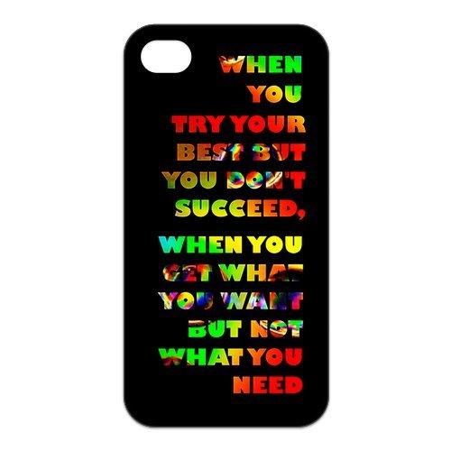 fayruz- 5S Cas, Coldplay Coque en TPU en caoutchouc pour Apple iPhone 5/5S Coque rigide b-i5W285