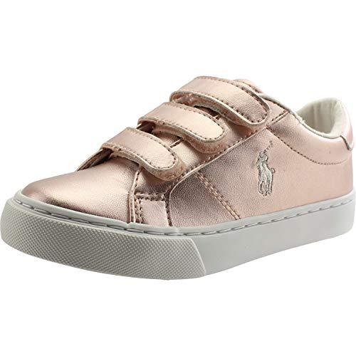 Polo Ralph Lauren Edgewood EZ Rose Metallisch 27 EU - Polo Ralph Lauren Kinder Sneaker