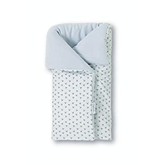 41KdHR5aIwL. SS324  - Pirulos 39213320 - Saco arrullo, diseño pirate, algodón, 50 x 82 cm, color blanco y gris