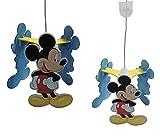 Suspension en bois Mickey
