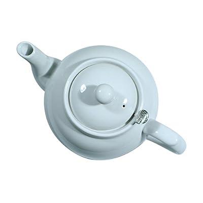 London Pottery Théière avec filtre 4 tasses Blanc