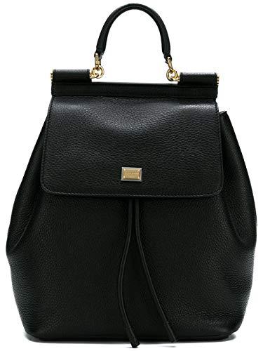 Dolce & Gabbana Zaino Donna Bb6036a803480999 Pelle Nero