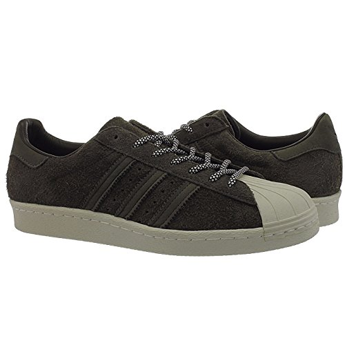Adidas Sneaker Men SUPERSTAR 80S S75848 Braun, Schuhgröße:43 1/3 - 2