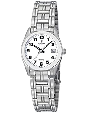 Festina Damen-Armbanduhr XS Klassik Analog Edelstahl F8826/4