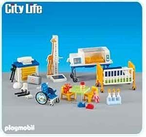 playmobil 6295 service de pediatrie nouveaute 2013 jeux et jouets. Black Bedroom Furniture Sets. Home Design Ideas