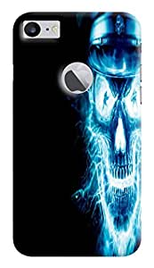 Expertdeal 3D Printed Hard Designer Apple iPhone 7 Mobile Back Cover Case Cover