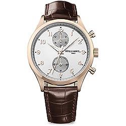 Reloj William L. para para Hombre WLOR02GOCM