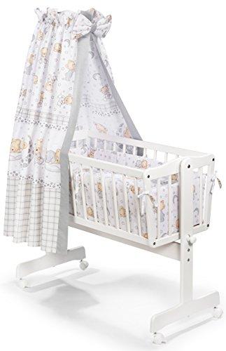 KOKO- 6-teilige textile Ausstattung geeeignet für Pendelwiegen | Designwahl (Design: Träumerli)