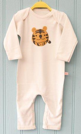 Petra Boase Ltd. Tiger Schlafanzug 0-6Monate (Herren Schlafanzug Tiger Strampelanzug,)