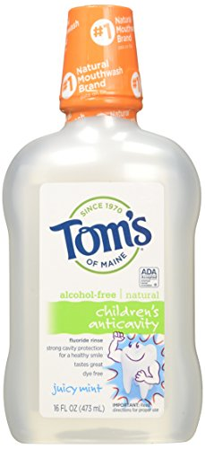 Tom's Of Maine Anticavity Fluorid Spülung Saftige Minze 475 ml