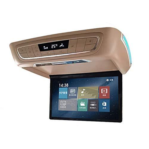 Hahaiyu Auto-Verwendung Buick Gl8 Android-System 15,6-Zoll-Dedicated Flip-Down-Monitor-Decke-TV-Auto-Rear-Entertainment-Display-Bildschirm-Änderung (Flip-down-auto-tv)