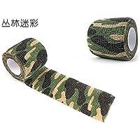 2pcs Cinta adhesiva de camuflaje para caza