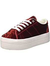 Jeffrey Campbell Damen Jcpzomgvelvet Low-Top