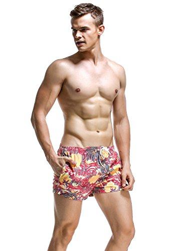 SEOBEAN Herren Badehose Badeshorts Board Shorts Strand Shorts 2838