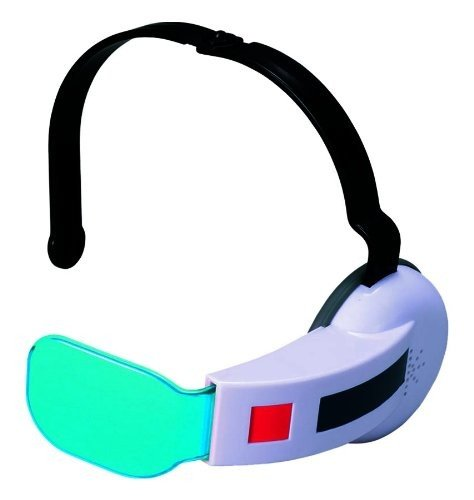Kostüm Dbz Vegeta - Bandai Dragon Ball Z Saiyan Scouter W/ Sound One Size Fits All- Blue Lens