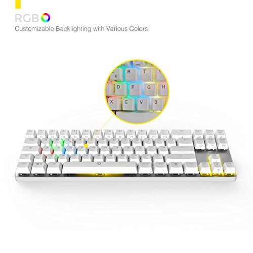 6401ab6b6d4 DREVO Calibur 72 Key RGB Wireless Mechanical Keyboard Backlit ...