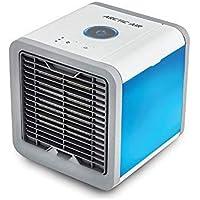 Mediashop Arctic Air mobiles Klimagerät Cool Luftkühler Befeuchter Ventilator mit USB Anschluß oder Netzstecker | Hydro-Chill Technologie | 3 Kühlstufen - 7 Stimmungslichter | Das Original aus dem TV