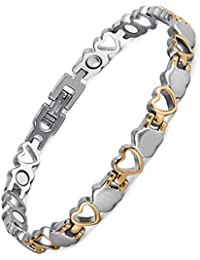 jewellery bracelets com silver amazon hand motherss sterling women authentic dp crystal chain heart bracelet for link