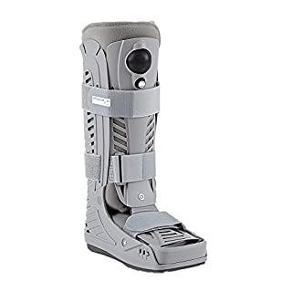 PhysioRoom Elite Air Fracture Walker - Support, Brace, Adjustable, Hygienic Alternative, Compression, Custom Fit, Stability, Comfortable, Soft-Foam, Breathable, Fabric Lining - Walker Boot
