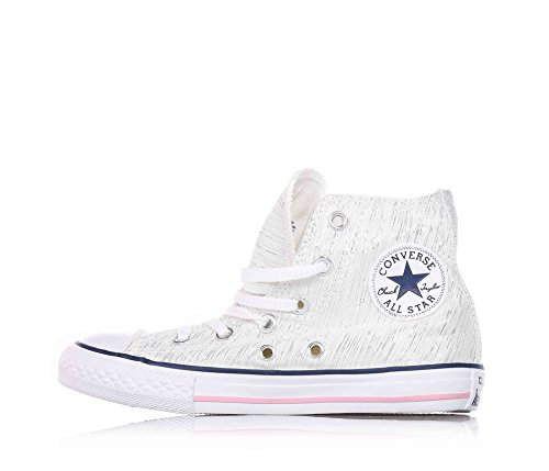 Junior High 352691C CONVERSE baskets ALL STAR HI ZIP White/Denim