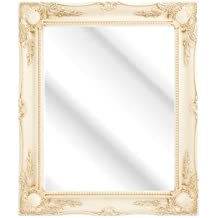 Frames by Post Large 5,1 cm nero shabby chic Style specchio da ...