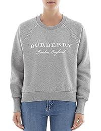 BURBERRY Women's 4056172 Grey Cotton Sweatshirt