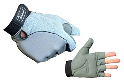 Globaleather Gel-Pad Wheelchair Gloves
